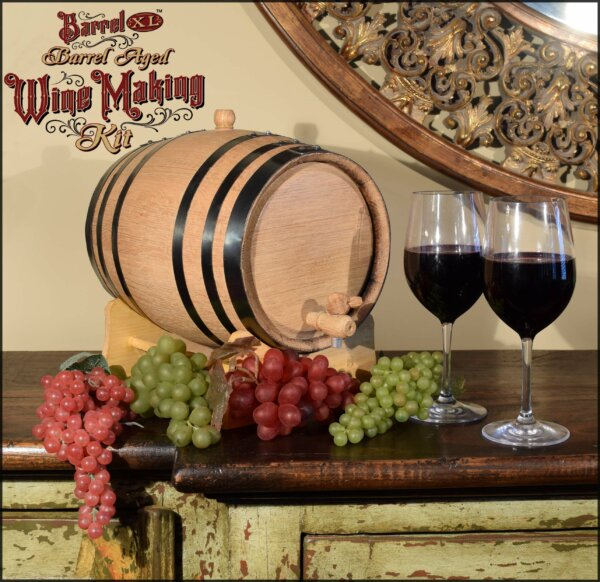 barrel aged wine kit