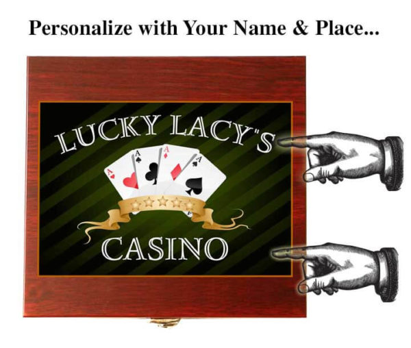 casino card gift set