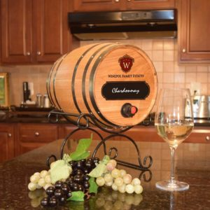 custom logo wine bag barrel
