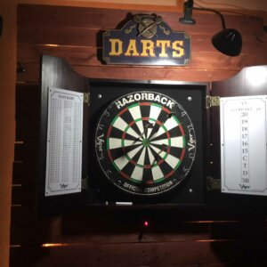dart board cool sign