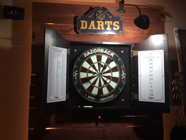 dart board cool sign