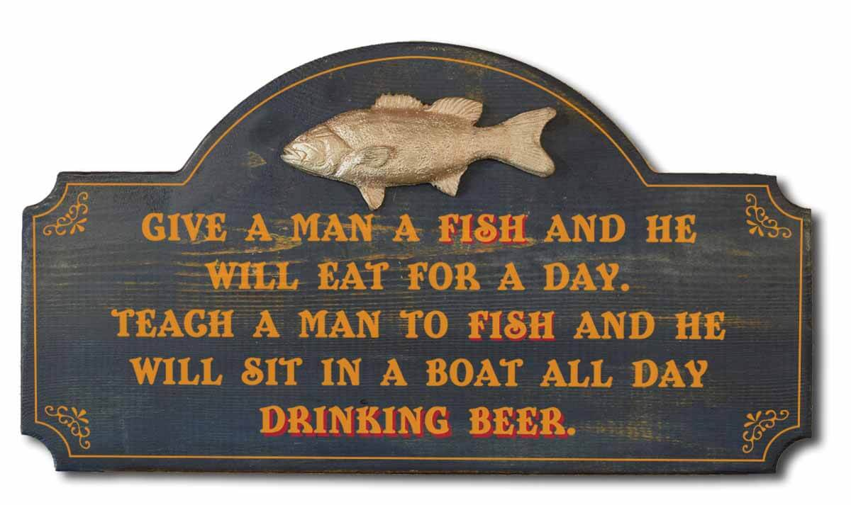 Give a (hu)man a fish, (s)hell eat for a day. Teach a (hu