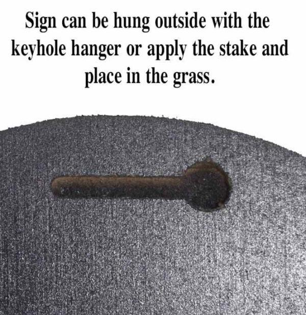 keyhole hanging