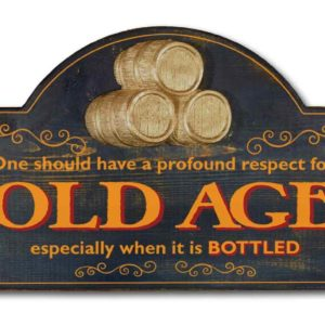 one should have a profound respect for old age
