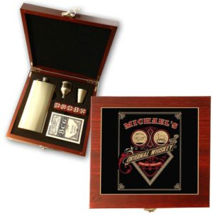 original whiskey poker gift set