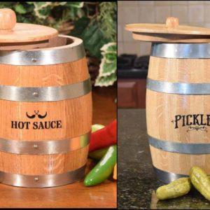 Pickle & Pepper Barrels