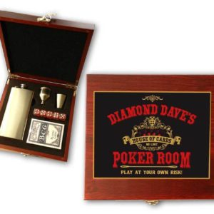 poker cards gift set