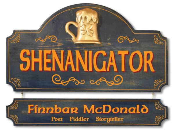 shenanigator sign