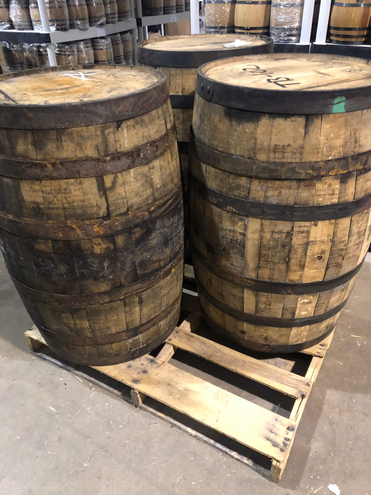 Used Whiskey Barrels Bourbon Barrels Full Size 53 Gallon