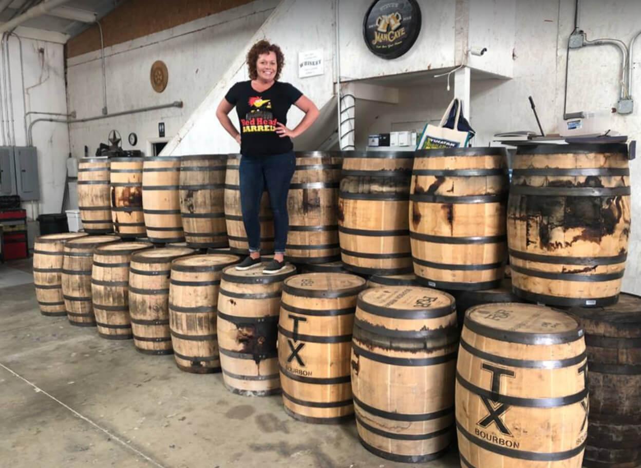 Used Whiskey Barrels Bourbon Barrels Full Size 53 Gallon
