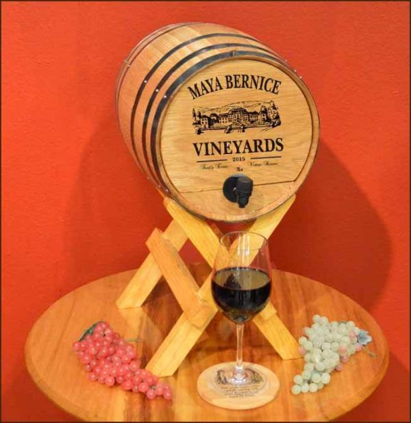 vineyard barrel Bag design 2