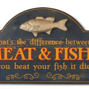 whats difference between meat and fish