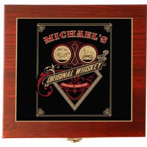 whiskey card gift set