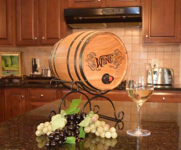 wine bag barrel