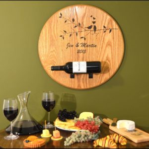 B500 barrel head bottle holder