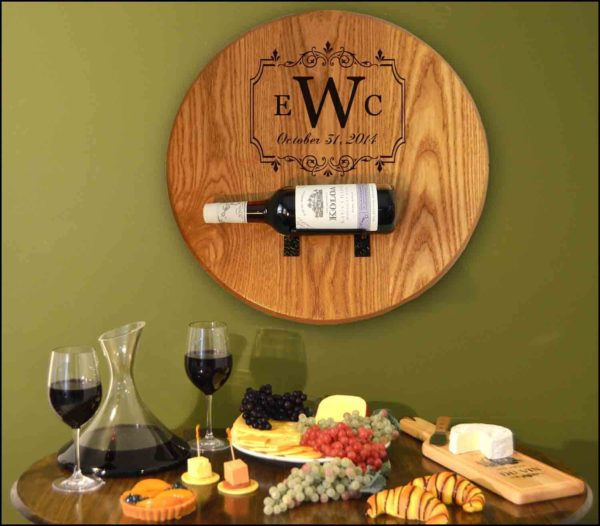 B505 barrel head bottle holder