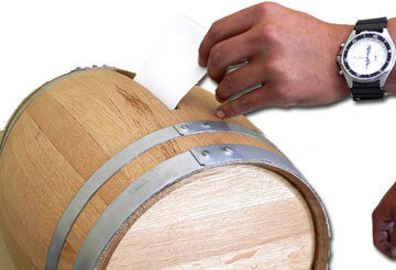 wedding card barrel insert