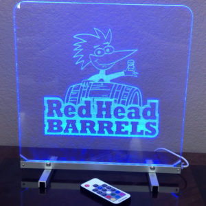 Lighted LED Acrylic Signs