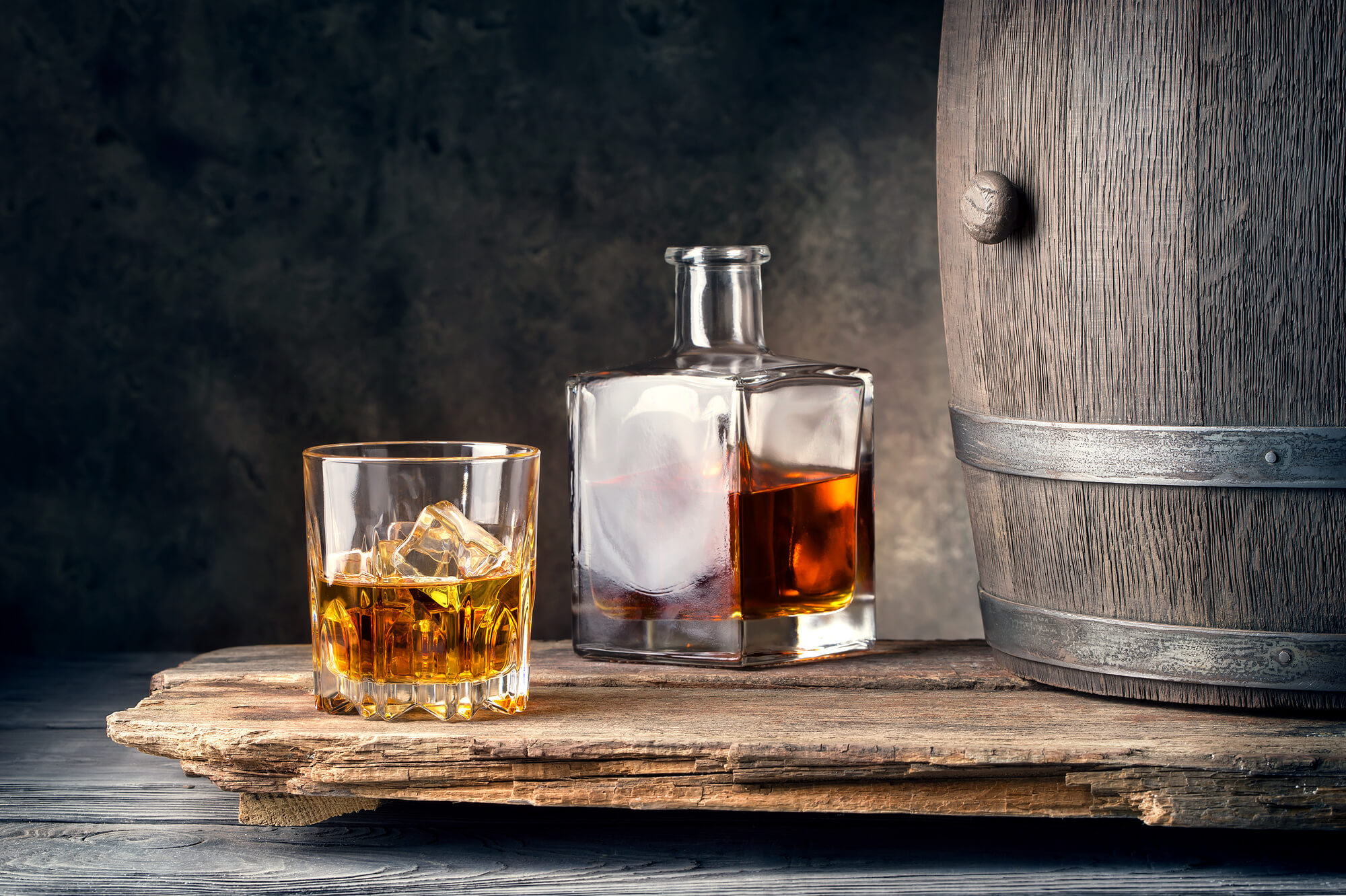 aging whiskey at home