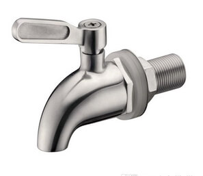 faucet for kombucha barrel stainless steel