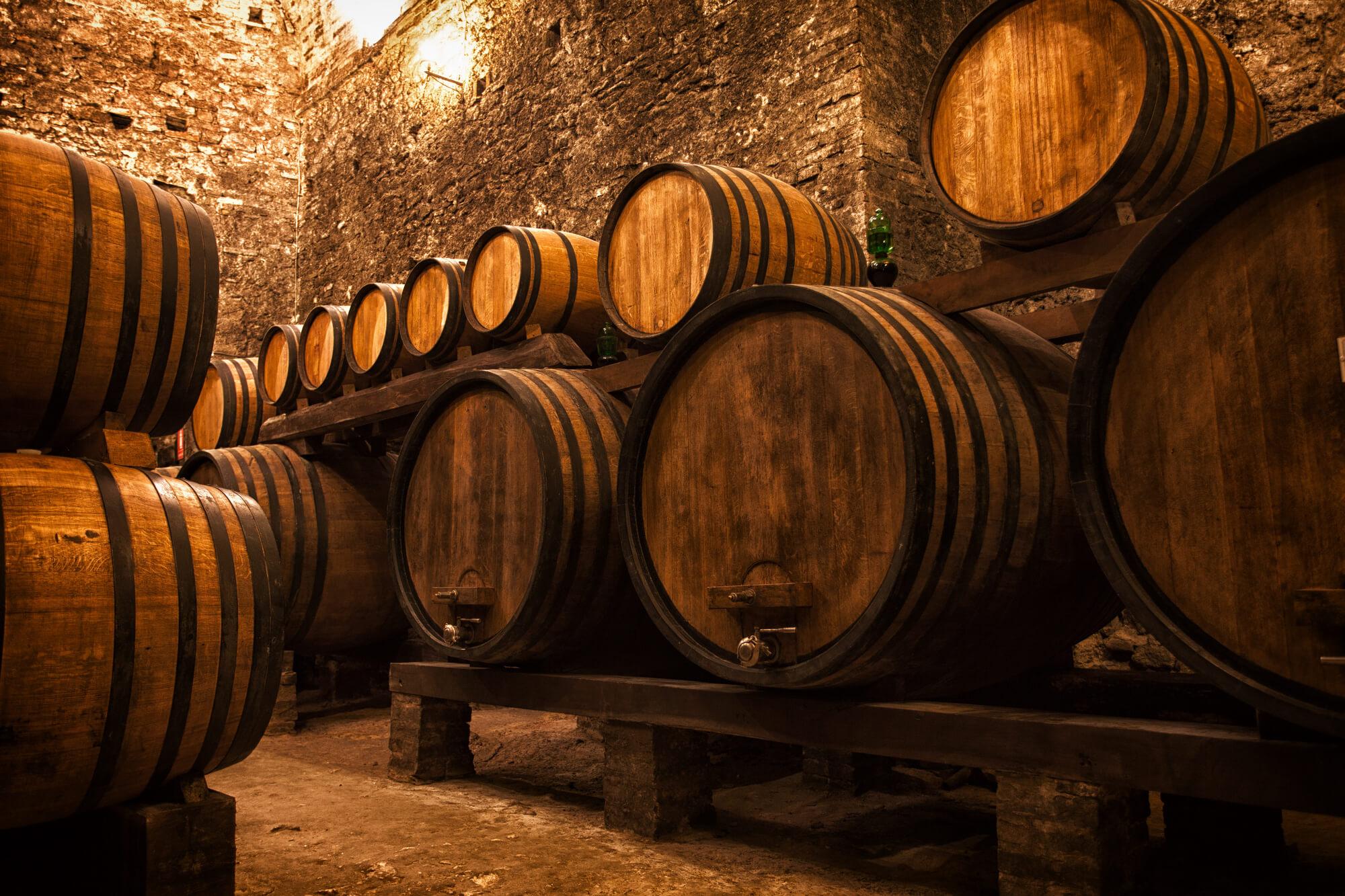 aging barrels